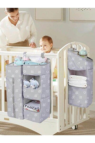 Beşik Organizer Beşik Yanı Düzenleyici Bebek Odası Organizer