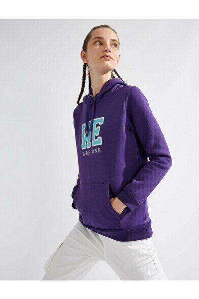 Kadın Mor Sweatshirt 1KAL68164IK