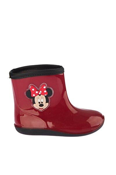 Mickey Mouse 97238 Kırmızı Siyah Kız Çocuk Panduf 100394274