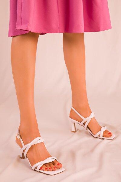 Ten Rugan Kadın Klasik Topuklu Ayakkabı 15908