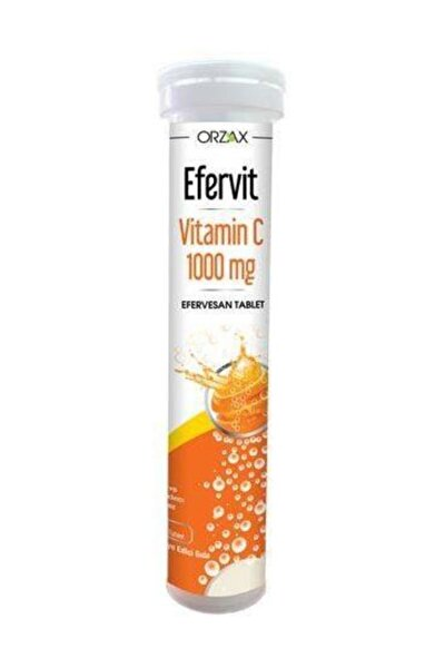 Efervit Vitamin C 100mg Efervesan 20 Tablet