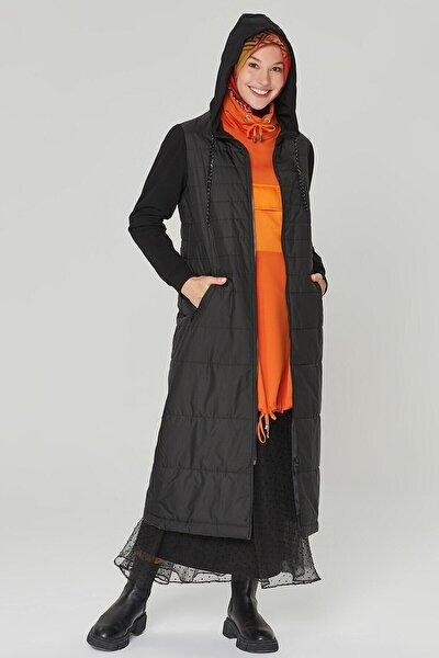 Trend Kadın Siyah Renk Kapitone 20kt508