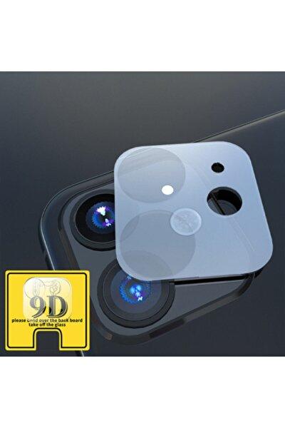 Apple Iphone 11 Kırılmaz 6.1 Inch 9d Kamera Koruma Camı
