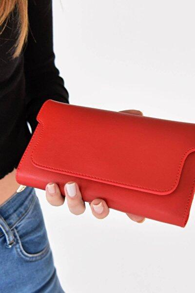 Kadın Kırmızı Cüzdan Czdn55 - F6 ADX-0000019896