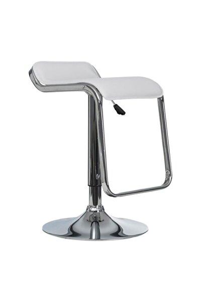 Jil Beyaz Bar Sandalyesi Ms.C222-08-Wht