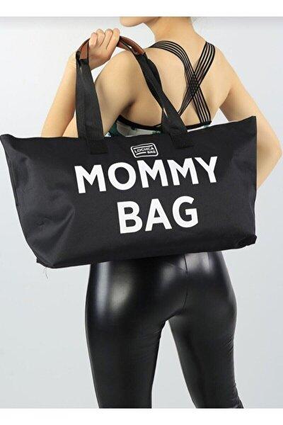 Siyah Anne Bebek Bakım Çantası Mommy