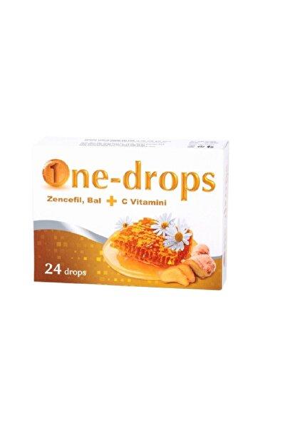One-drops Pastil Zencefil Bal + C Vitamini
