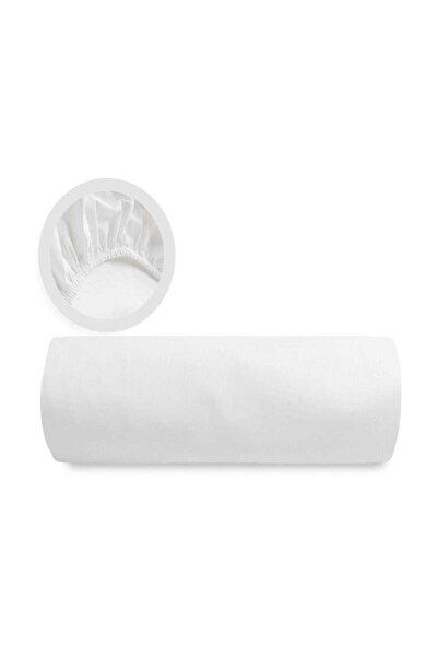 Battal Boy (1.80*2.00 Ölçülerinde) Penye Lastikli Çarşaf-beyaz