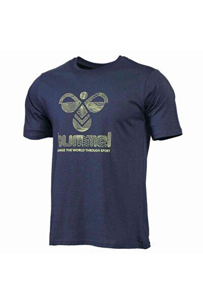 HMLWAVO Lacivert Erkek T-Shirt 101085897