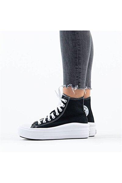 Chuck Taylor All Star Move Platform Kadın Siyah Sneaker 568497cv1