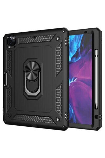 Ipad Pro 11 2020 Standlı Yüzüklü Mıknatıslı Kalemlikli Tablet Kılıfı