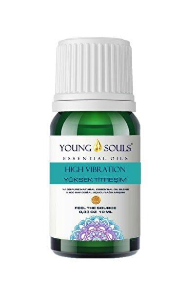 Aromaterapi High Vibration (yüksek Titreşim) Uçucu Yağ Karışımı %100 Pure 10 Ml