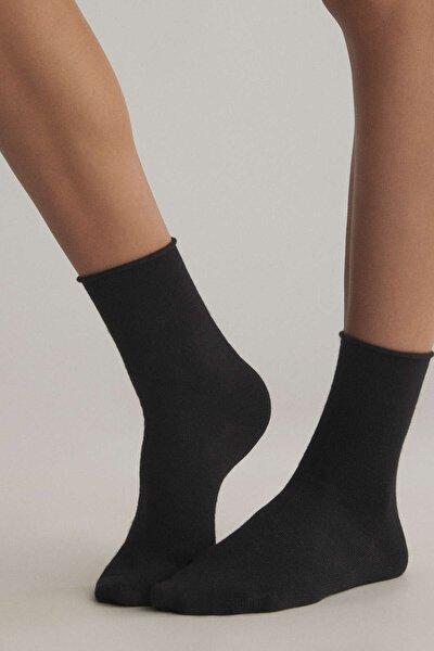 Bambu Orta Boy Çorap 2 Çift