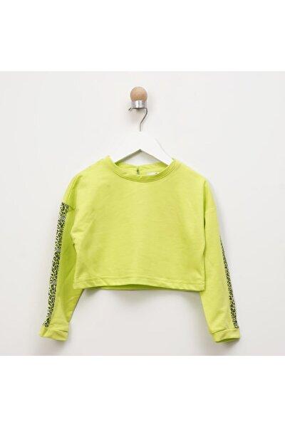 Kız Çocuk Sarı Sweatshirt 2111gk08025