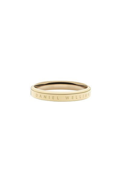 Classic Ring Yellow Gold  58 Çelik Yüzük