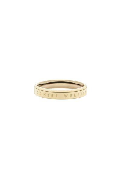Classic Ring Yellow Gold  52 Çelik Yüzük