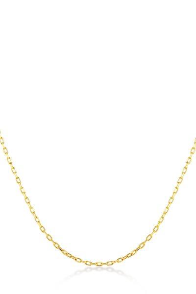 Kadın 14 Ayar Altın Zincir Kolye GLN100484