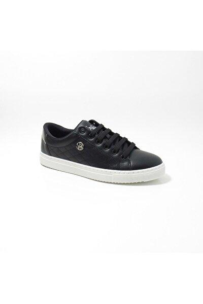 Tıggy 1fx 100910789 Black Siyah Kadın Günlük Yürüyüş Spor Ayakkabı - - Siyah - 38