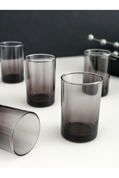 Siyah Cam Su Bardağı