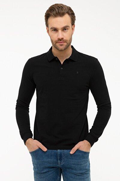Erkek Siyah Slim Fit Sweatshirt G021GL082.000.1100692