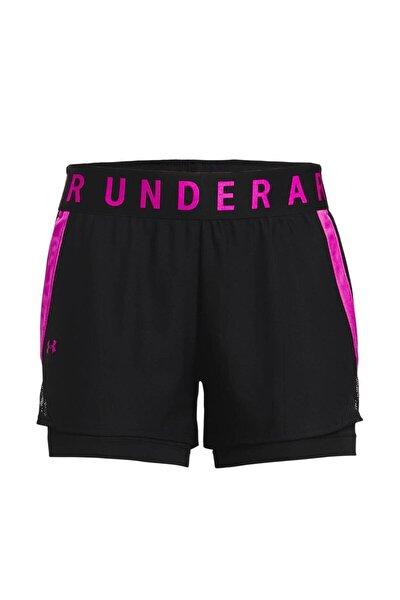 Kadın Spor Şort - Play Up 2-in-1 Shorts - 1351981-005