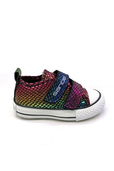 Kız Çocuk Cırtlı Çocuk Işıklı Ayakkabı