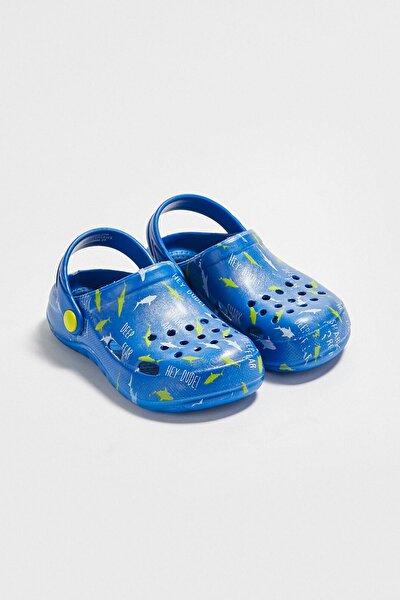 Erkek Çocuk Saks Mavi Crw Sandalet