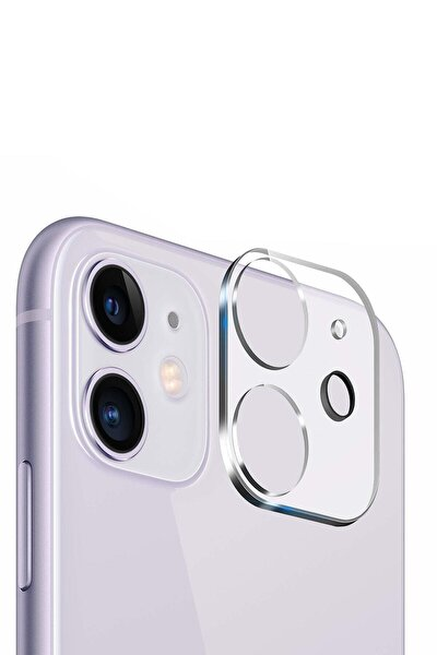 Iphone 11 Uyumlu Kamera Koruyucu Cam 9d Lens Koruma
