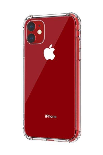 Microsonic Iphone 11 6.1'' Uyumlu Şeffaf Shock Absorbing Kılıf