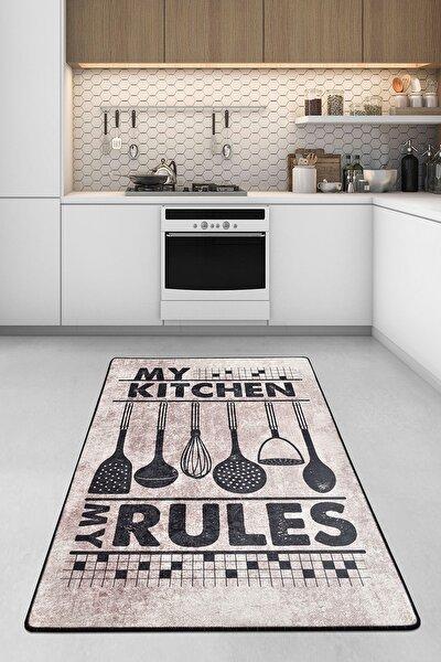RULES DJT Mutfak Halısı, Modern Halı