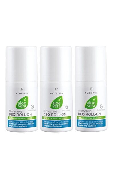 Aloe Vera Deo Roll-on - 3'lü Set