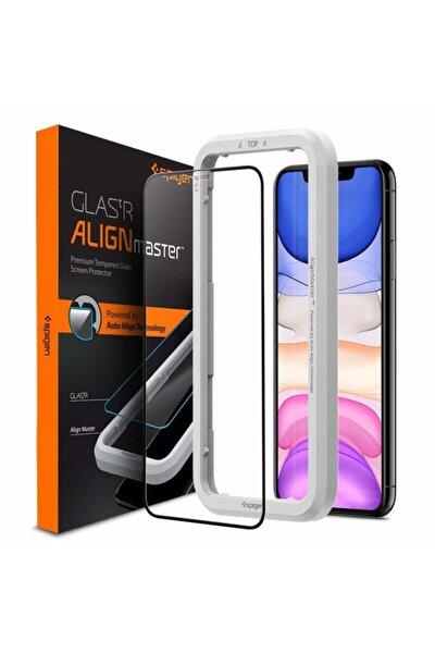 Iphone 11 Pro / Xs / X Cam Ekran Koruyucu Kolay Kurulum, Alignmaster Full Cover Glass Black