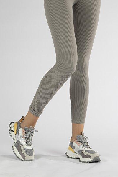 Kadın Dolgu Taban Sneaker