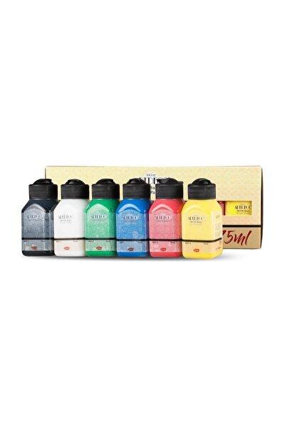 Canlı Renkler Akrilik Boya Seti 6x75