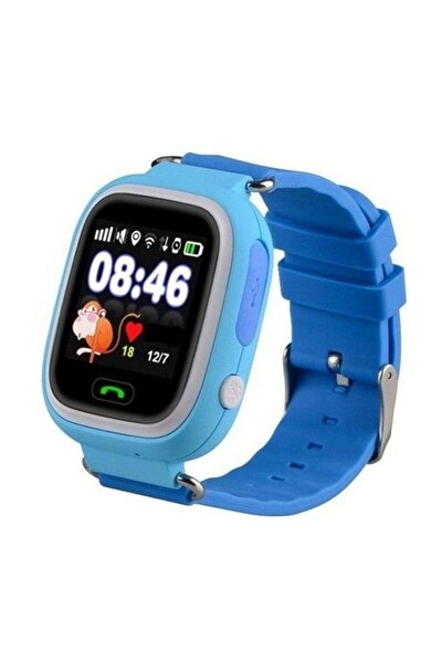 Mavi Eos Td-07s Gps Akıllı Saat Çocuk Takip Saati Sim Kartlı Arama