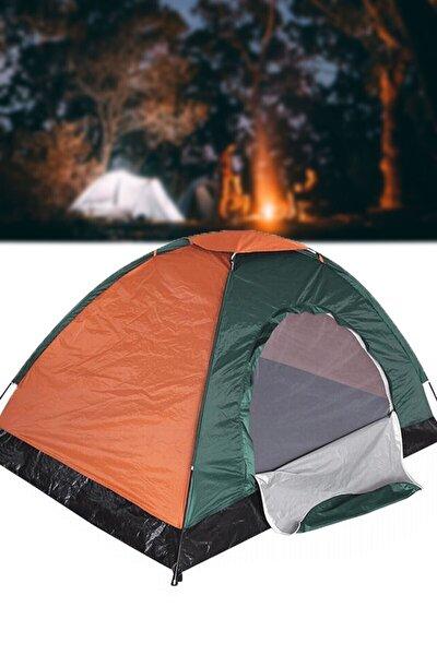4 - 5 Kişilik 200x200x135 Ölçülerinde Kamp Çadırı Tatil Deprem