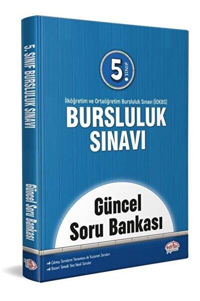Editör Yayınevi 5. Sınıf Bursluluk Sınavı Konu Güncel Soru Bankası
