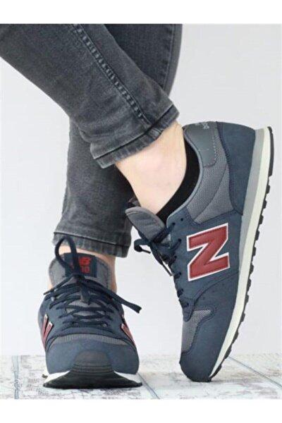 500 Lacivert Kırmızı Erkek Günlük Spor Ayakkabı Gm500tskv3