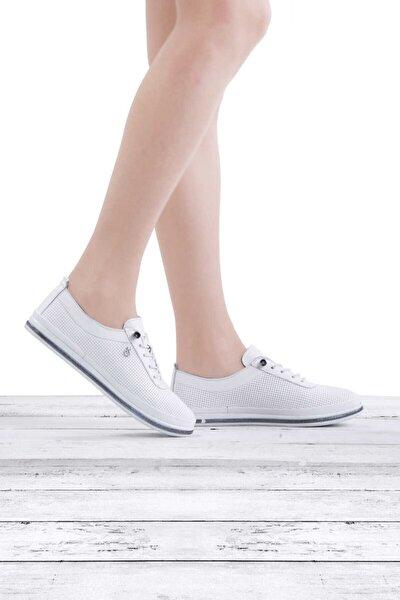 Kadın Deri Spor Ayakkabısı