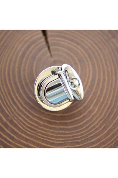 Çanta Kilidi 2,5 cm Gümüş