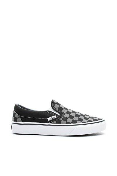 Classic Slip-On Checkerboard Siyah Unisex Sneaker