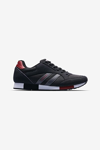 Boston Sneakers Unisex Siyah  Günlük Spor Ayakkabı