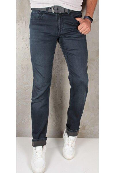 1237 Erkek Slim Fit Örme Pantolon