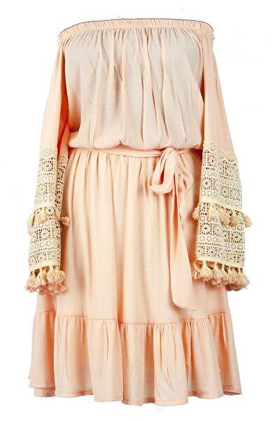 Kadın Pudra Elbise
