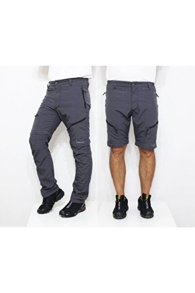 Outdoor Modüler Trekking Pantolon-gri