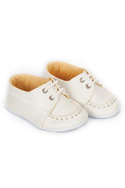Unisex Bebek Beyaz  Patik Ayakkabı