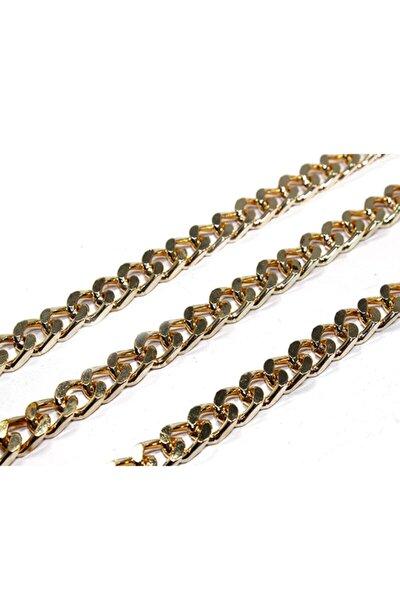 Metal Çanta Ve Takı Zinciri 10 mm (1 mt) Altın