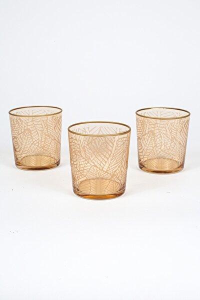 Exotic 3'lü Meşrubat Bardağı Seti_Amber 380 cc