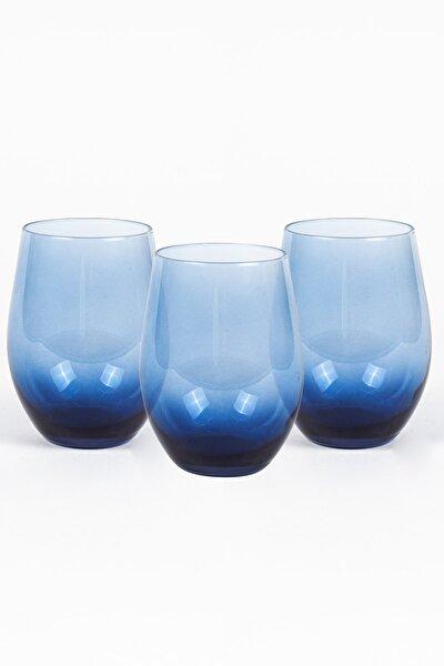 Iconic 3'lü Bardak Seti Mavi