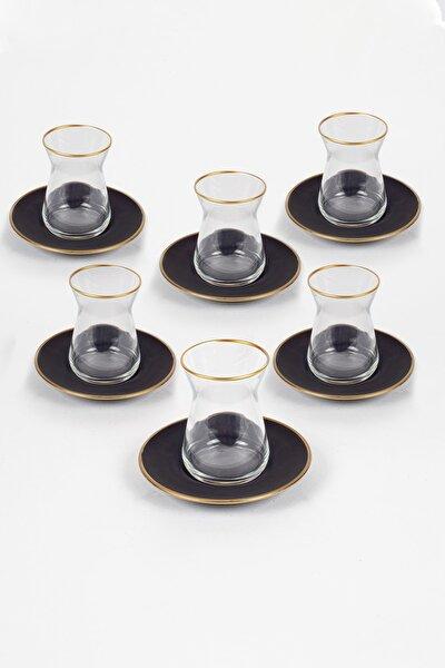 Black 12 Parça Çay Seti